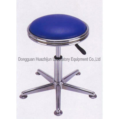 Customized SS Revolving Stool FRP Surface With Rubber Grounding Part