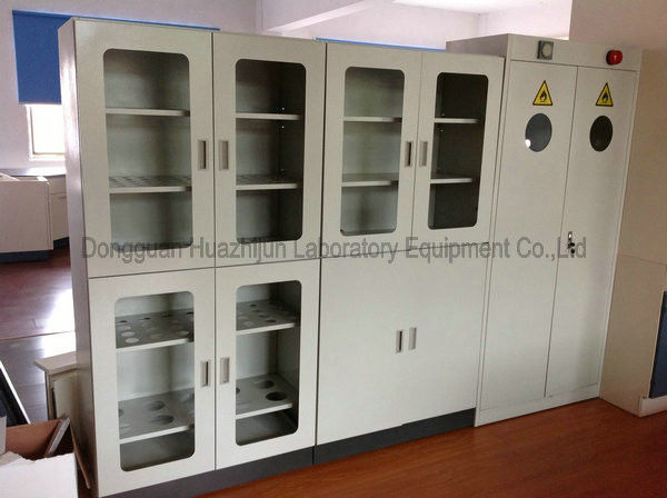 1.0mm Galvanized Steel Laboratory Storage Cabinets For Biology Reagent Sample