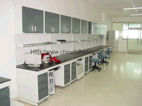 Educational Steel Lab Furniture , Instrument School Lab Furniture With Sink