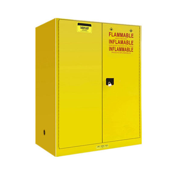 Steel Flammable Safety Cabinet , Anti Explosion Flammable Solvent Cabinet