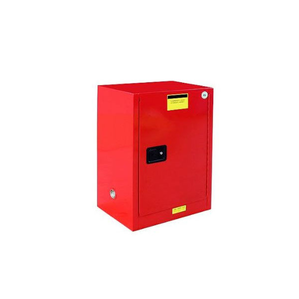 Full Steel Flammable Storage Cabinet With Built - In Grounding Connector