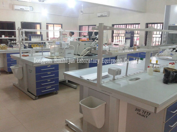 Laboratory Casework With Reagent Shelf Laboratory Furniture China Manufacturer