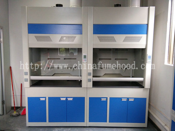 1500mm Width Steel Fume Hood , Phenolic Resin Benchtop Laboratory Exhaust Hood