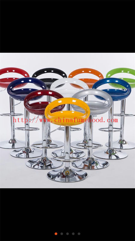 Industrial Lab Chair Stool Multi Color FRP PU Surface 440-600mm Height Scope