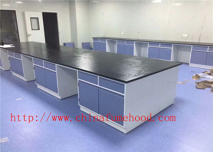 Medical lab Cabinet Production Laboratory Central Bench For Oversea University