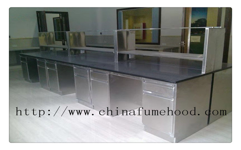 Standard Stainless Steel Lab Furniture stainless steel lab tables For Food & Hospital Laboratory