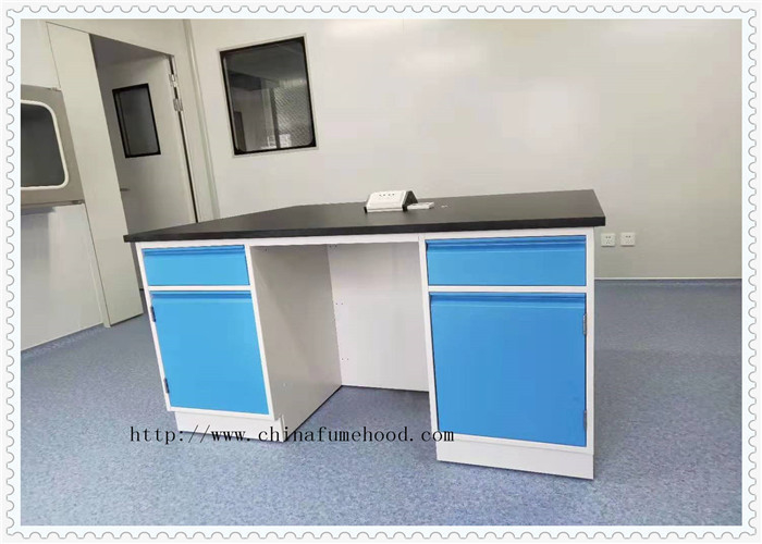 Medical Chemistry Lab Furniture  Epoxy Resin Table Top Customized Size