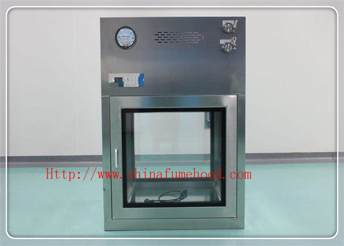 Low Noise Clean Room Equipment / Pass Box Air Shower 380v / 50hz 750w